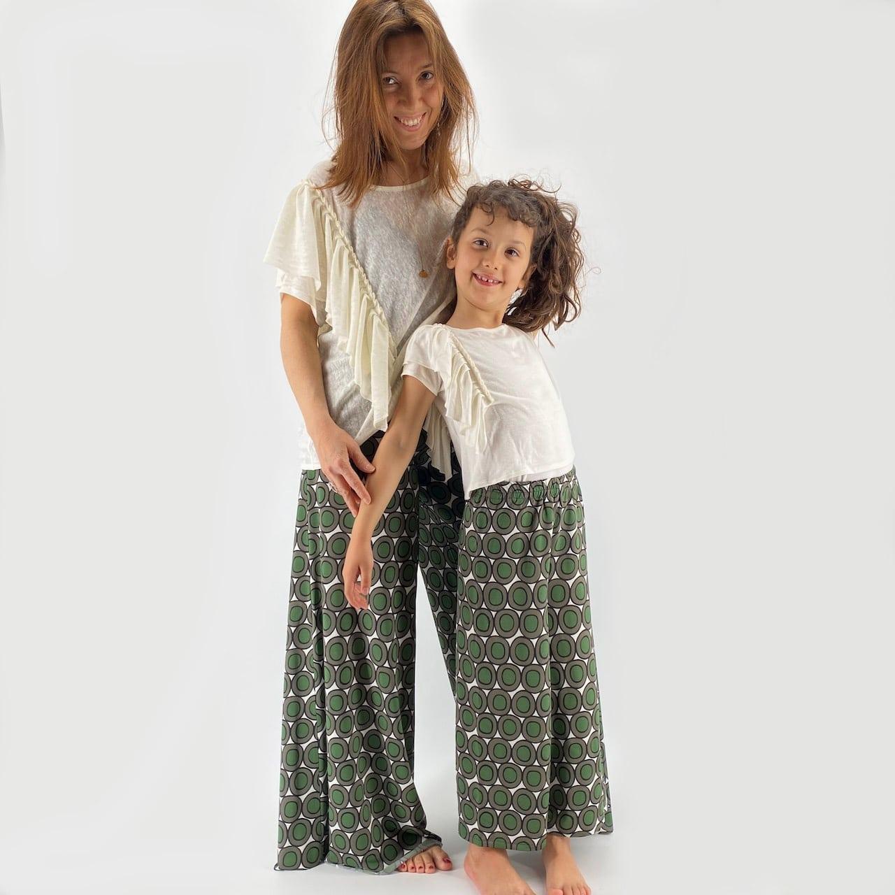 Pantalone Ninfea bimba